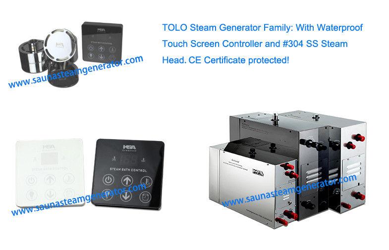 Fast Steam Electric Sauna Steam Generator 15kw 400v For